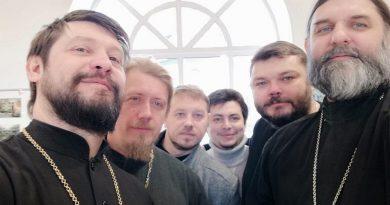 Встреча в рамках сотрудничества с Духовной школой Кузбасса