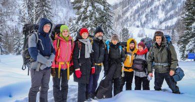 Кемеровские следопыты провели выездной семинар в Кузнецком Алатау