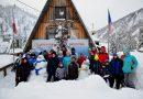 «Свет рождественской свечи» в горах Кузнецкого Алатау
