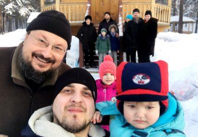 В преддверии Великого поста православные активисты Белова совершили поездку на святой источник